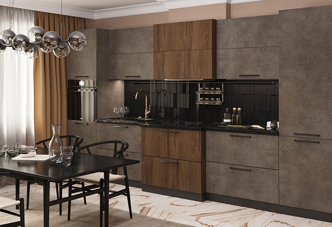 Кухонный гарнитур «Лазурит»