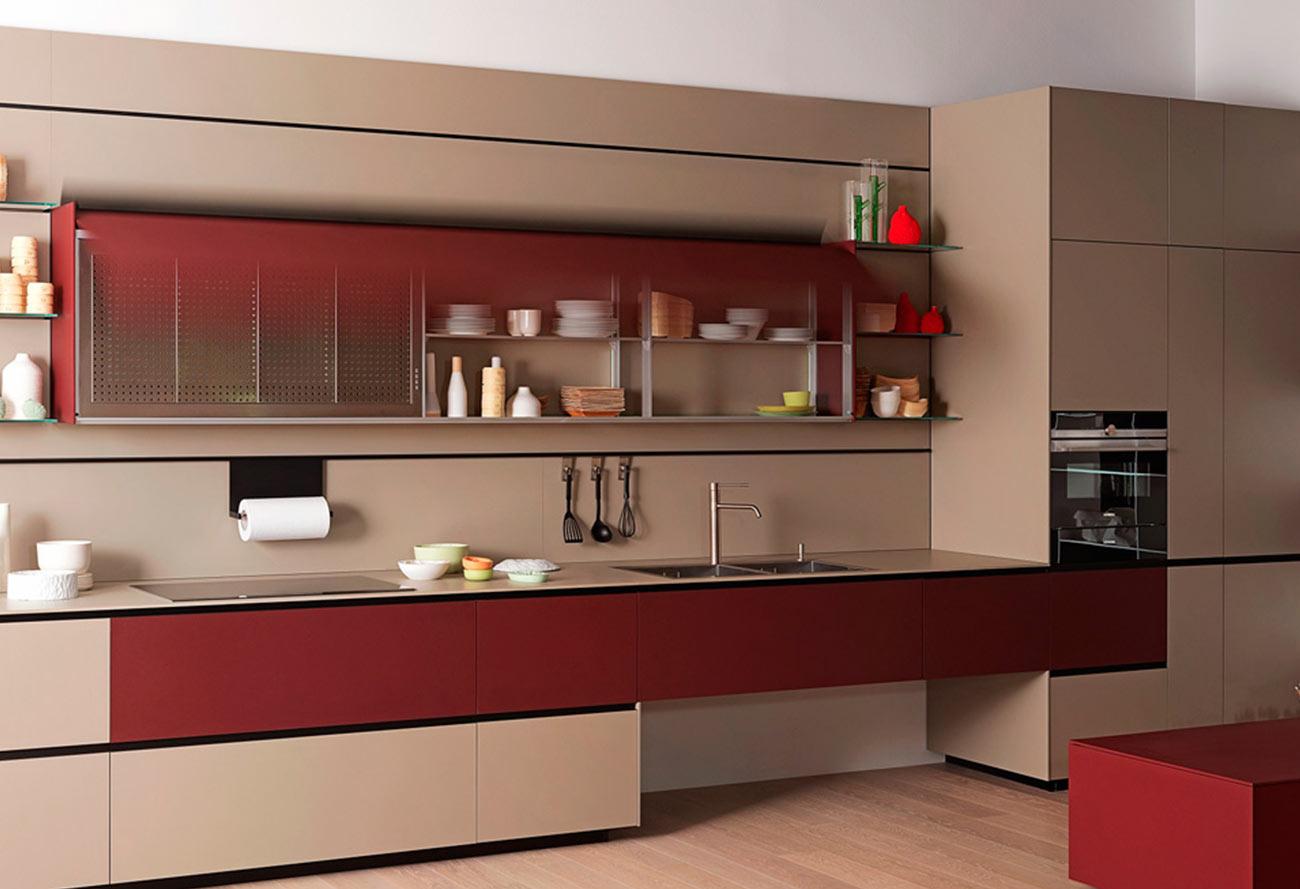 Кухонный гарнитур «Омега»