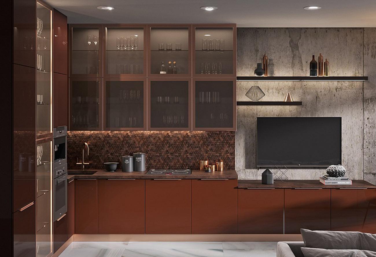 Кухонный гарнитур «Оникс»