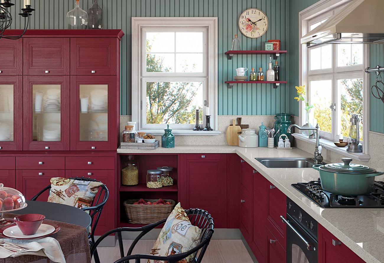 Кухонный гарнитур «Палитра»